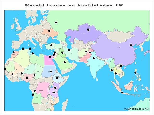 wereld-landen-en-hoofdsteden-tw