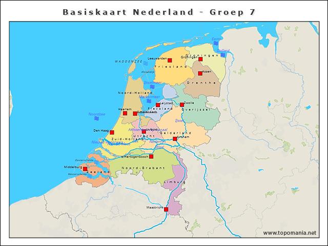 basiskaart-nederland-groep-7