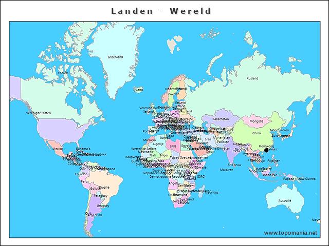 landen-wereld