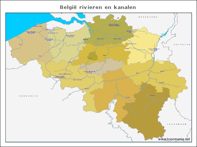 belgie-rivieren-en-kanalen