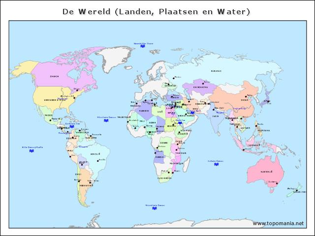 de-wereld-(landen-plaatsen-en-water)
