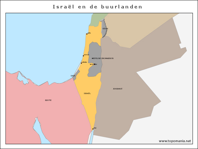 israel-en-de-buurlanden
