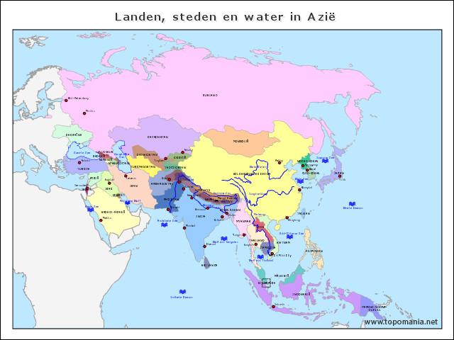 landen-steden-en-water-in-azie