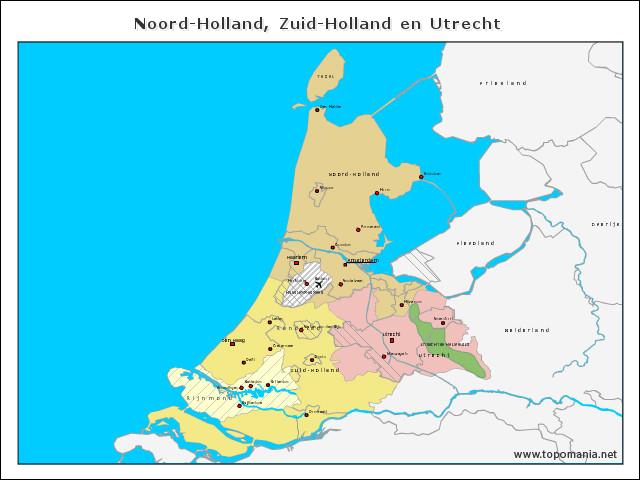 noord-holland-zuid-holland-en-utrecht