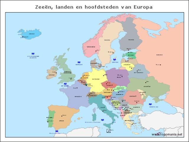 zeeen-landen-en-hoofdsteden-van-europa